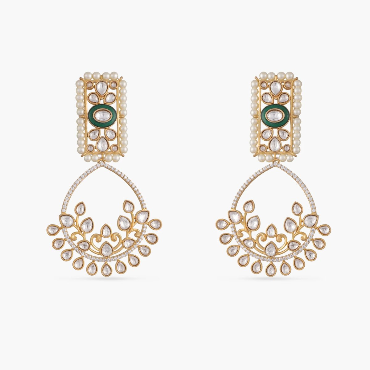 Parina Kundan Earrings