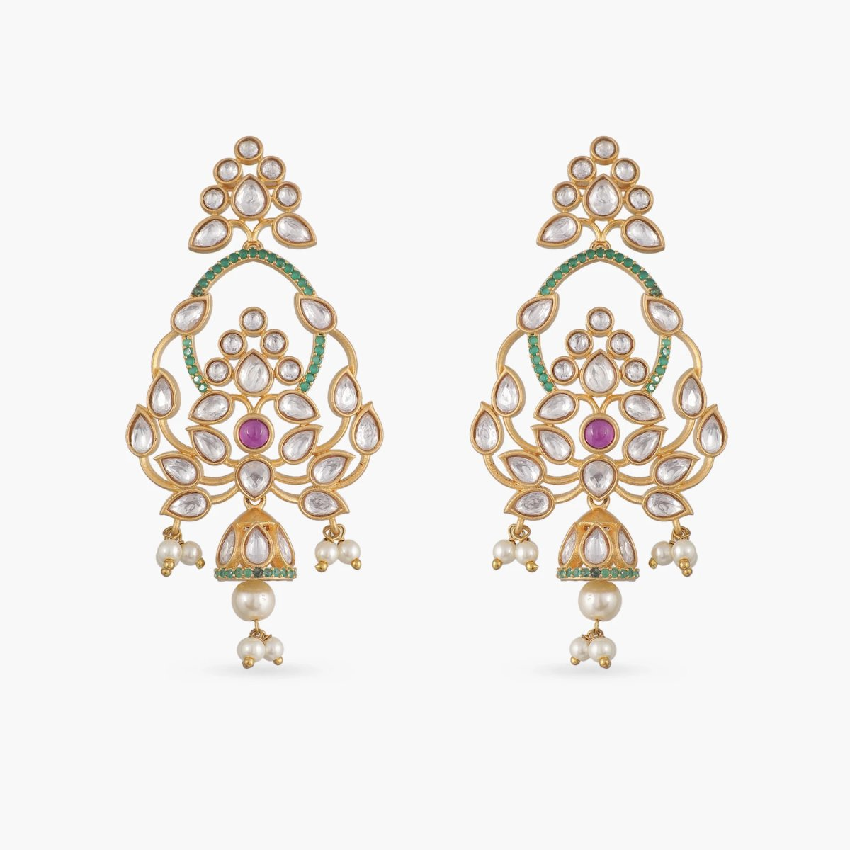 Elaina Kundan Earrings