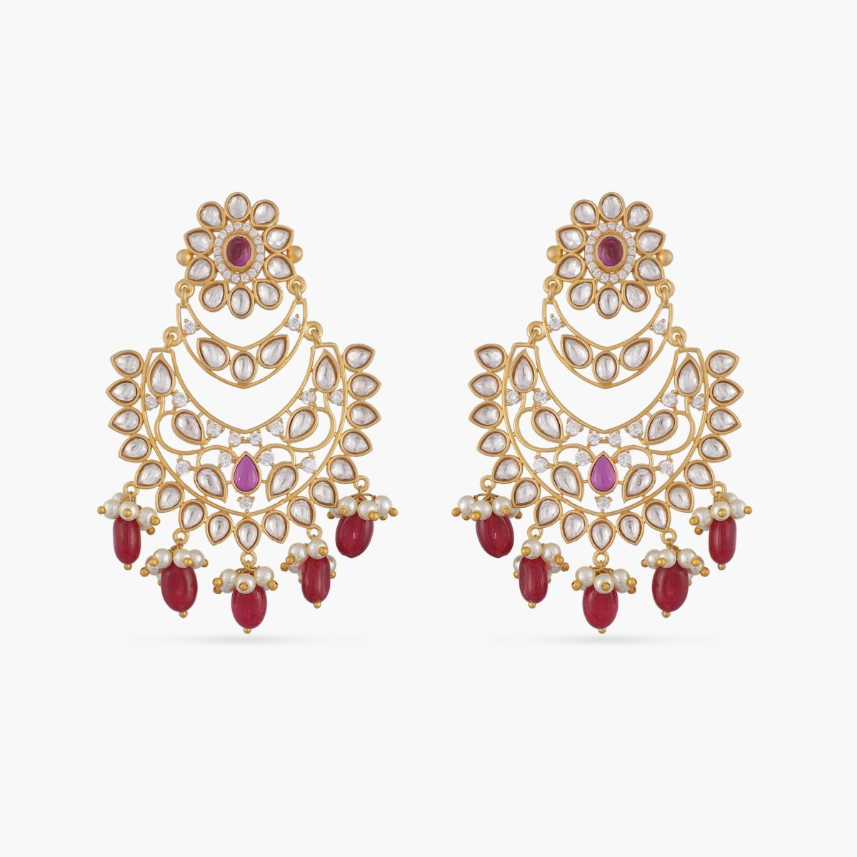 Chitrita Kundan Earrings