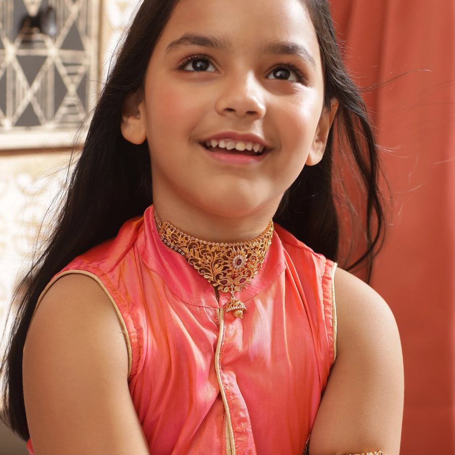 Shanaya Antique Kids Necklace
