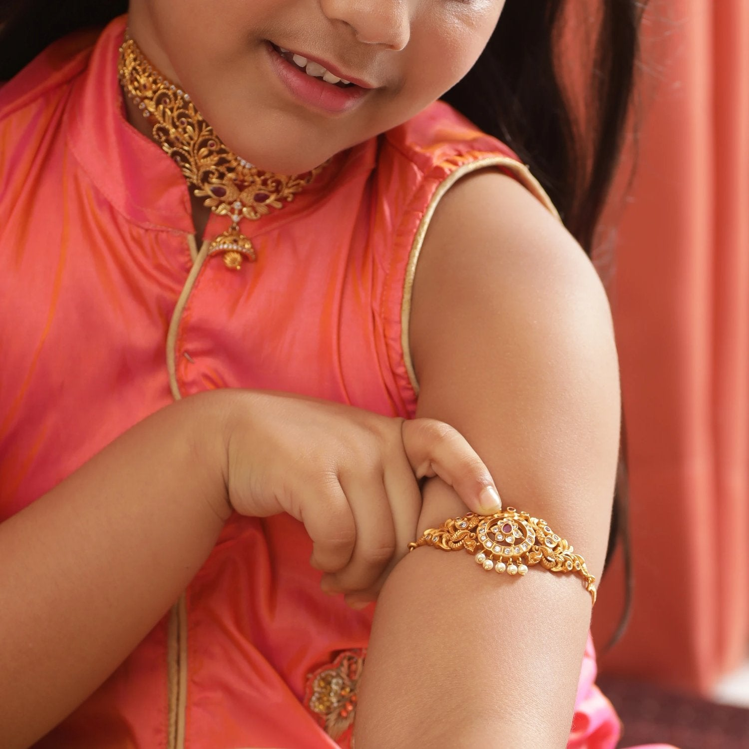 Naira Antique Kids Armlets