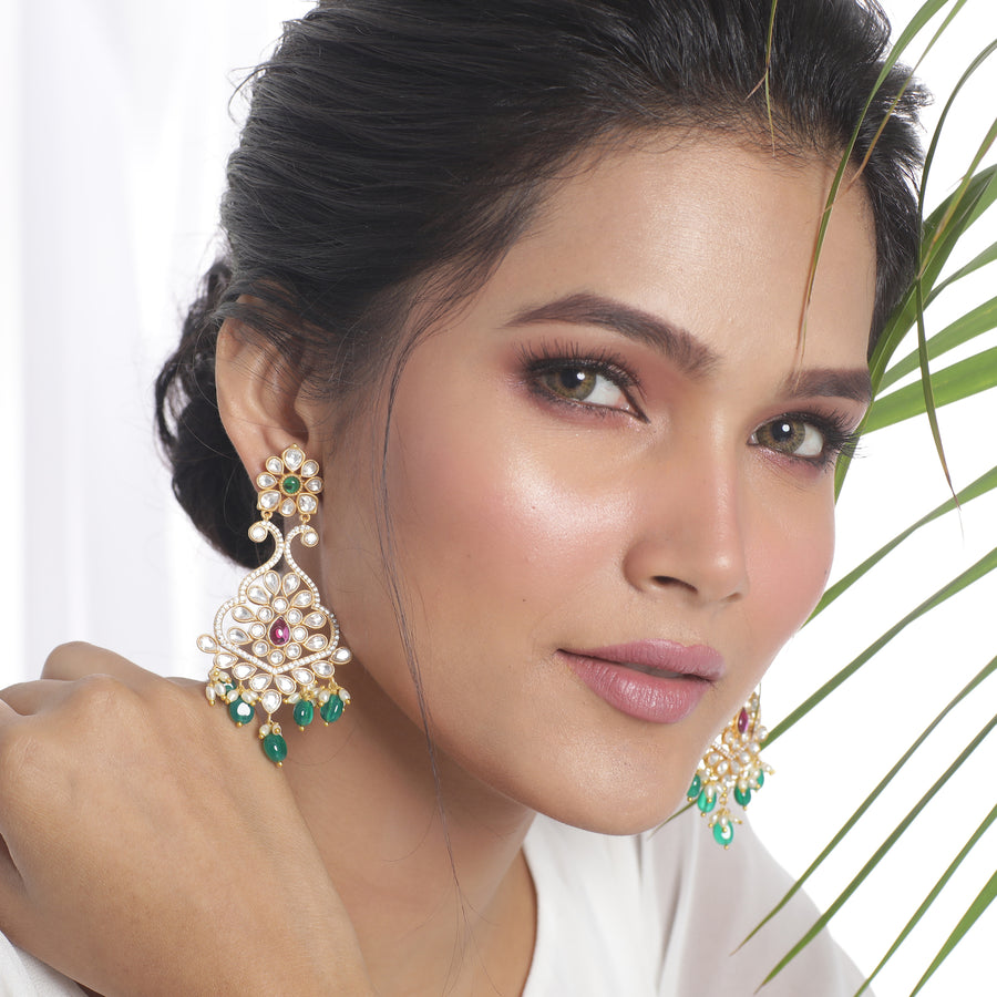Naina Kundan Earrings