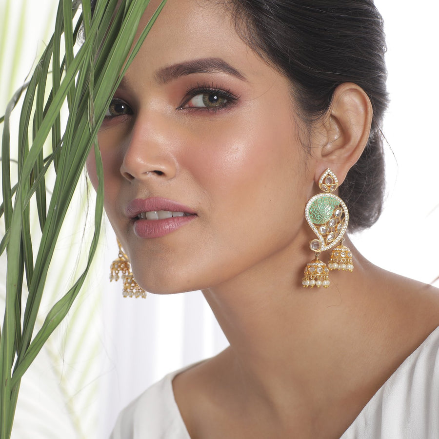 Mihika Kundan Earrings