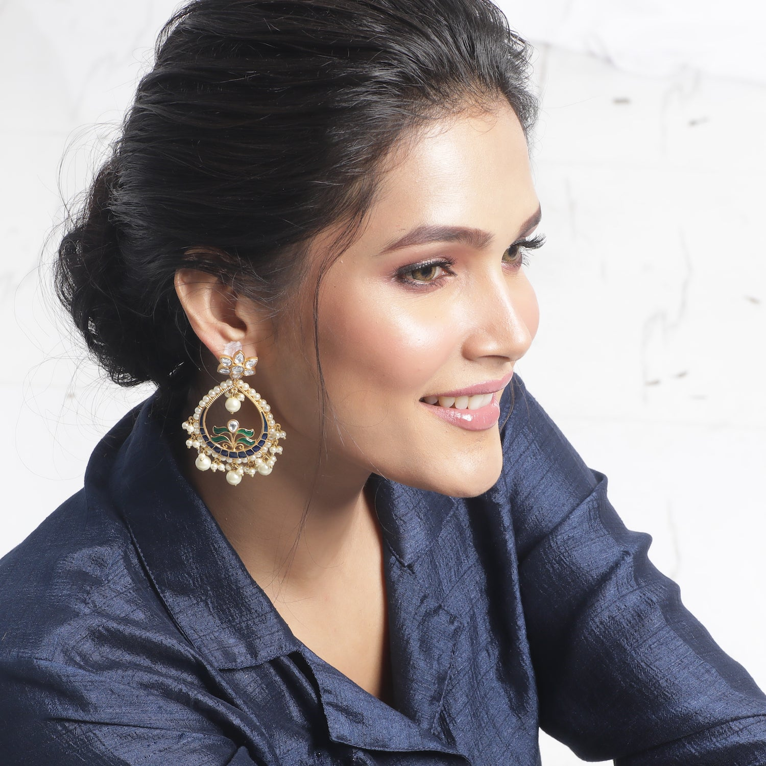 Viditha Kundan Earrings