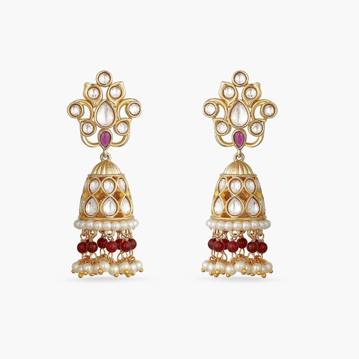 Aakriti Kundan Jhumka Earrings