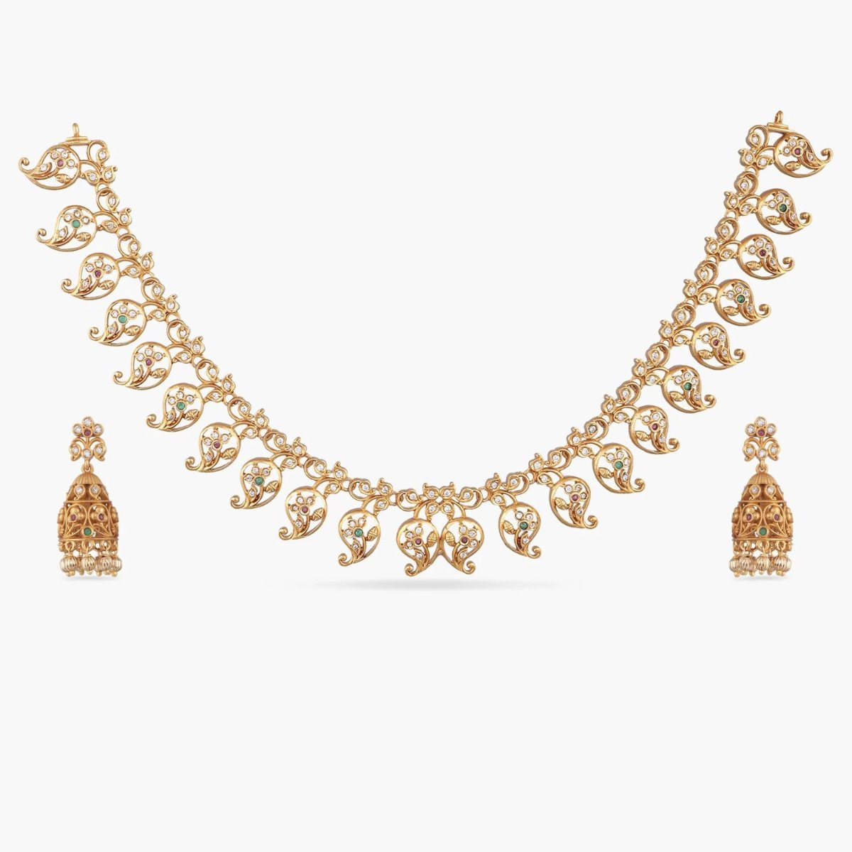 Zeel Antique Necklace Set