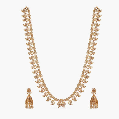 Zeel Antique Long Necklace Set