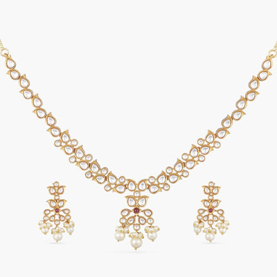Shaachi Kundan Necklace Set