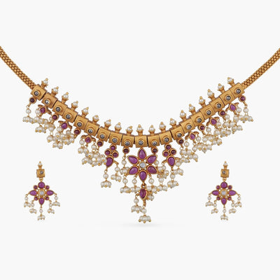 Kasni Antique Necklace Set