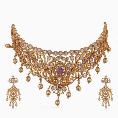 Miah Antique Choker Set