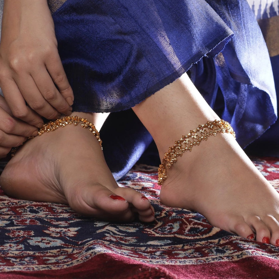 Preya Antique Anklets