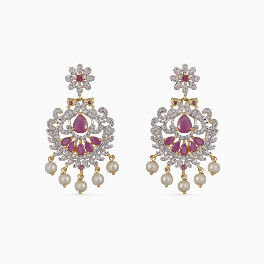 Aariya Nakshatra CZ Earrings