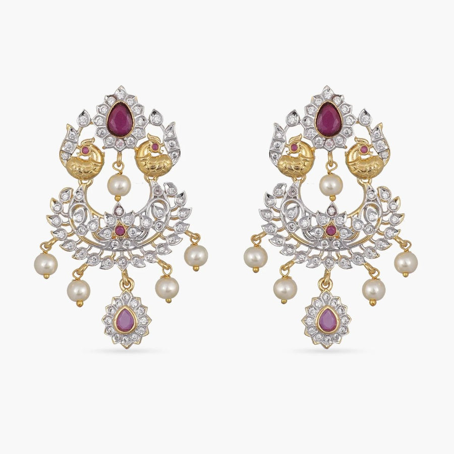 Vibha Nakshatra CZ Earrings