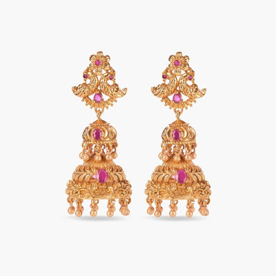 Osaze Antique Jhumka Earrings