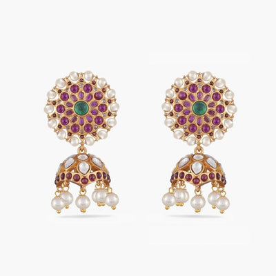 Yukti Antique Jhumka Earrings