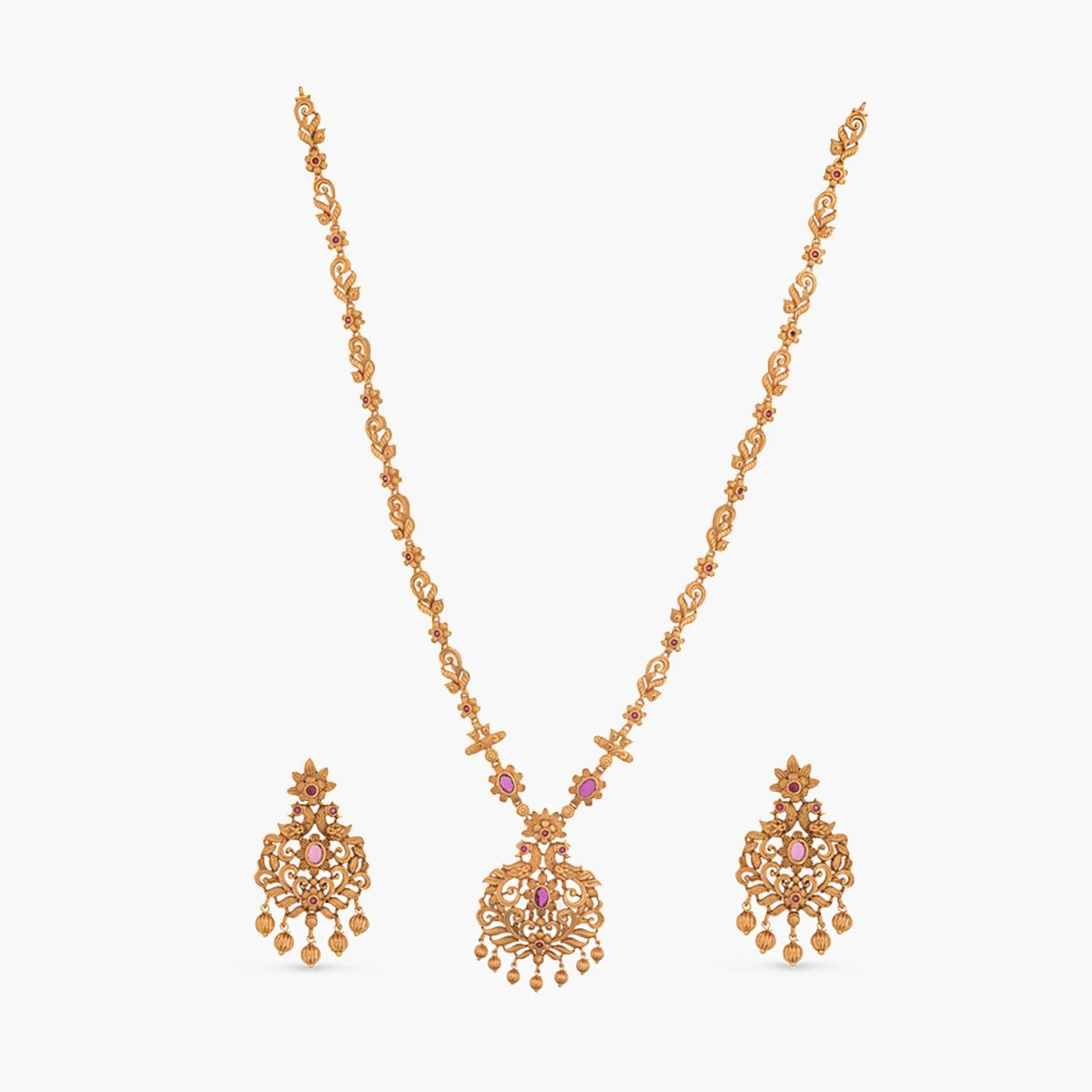 Rashmil Antique Long Necklace Set