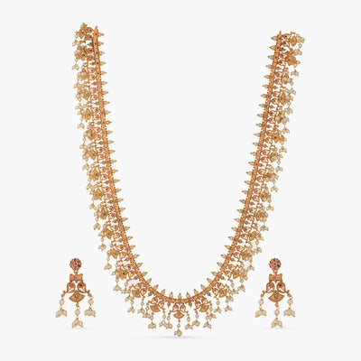 Navroz Antique Long Necklace Set