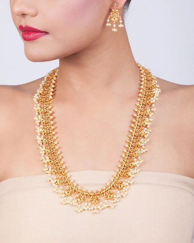 Navroz Long Necklace Set
