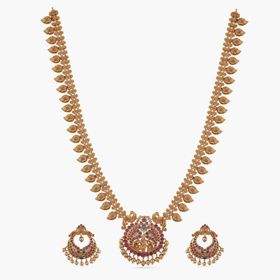 Gita Antique Long Necklace Set