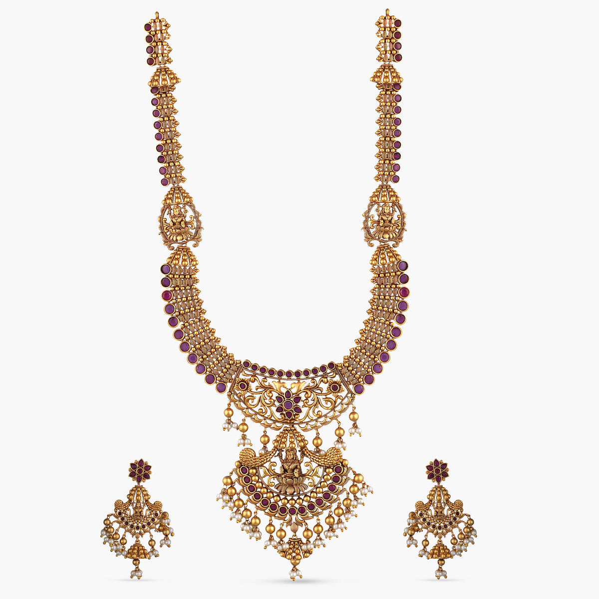 Evani Antique Long Necklace Set