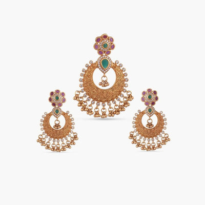 Avni Antique Pendant Set