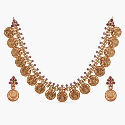 Aaida Antique Necklace Set