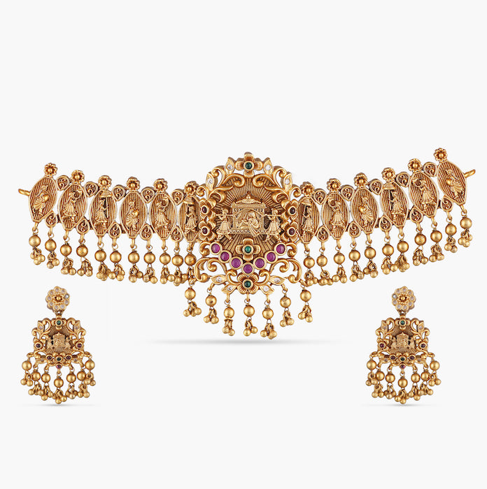 Adita Antique Choker Set