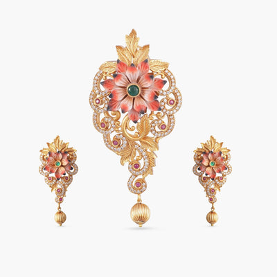 Jaya Antique Pendant Set