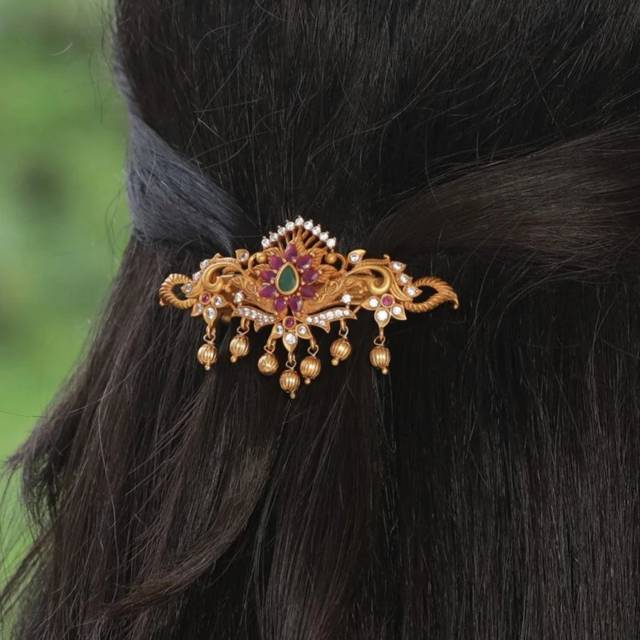 Rizvi Antique Hairclip by Tarinika