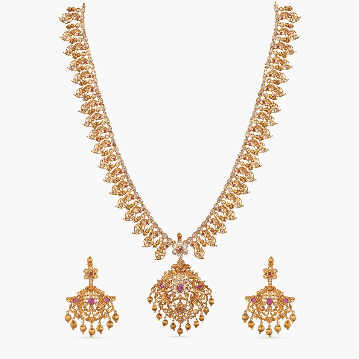 Celia Antique Long Necklace Set