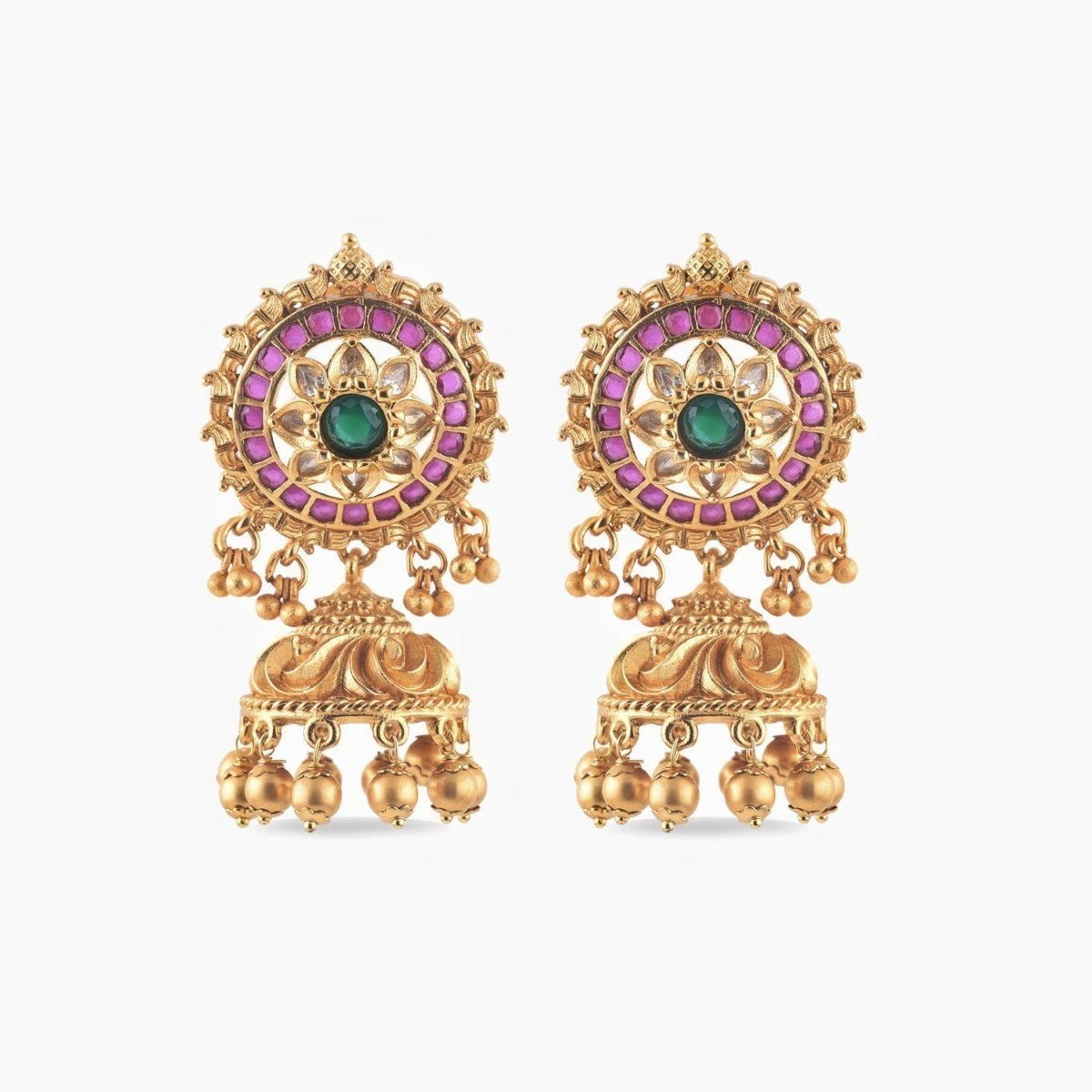 Ruhi Antique Jhumka Earrings