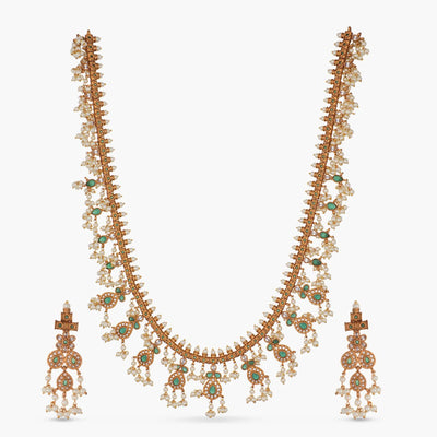Riva Long Necklace Set