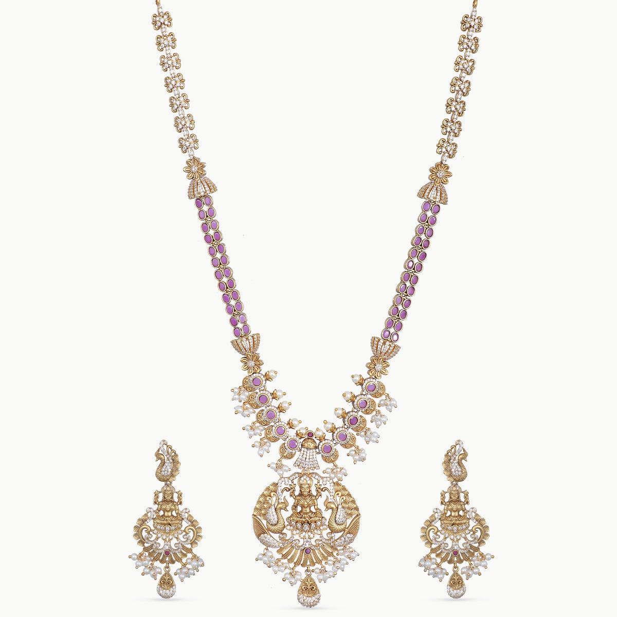 Deepna Antique Long Necklace Set