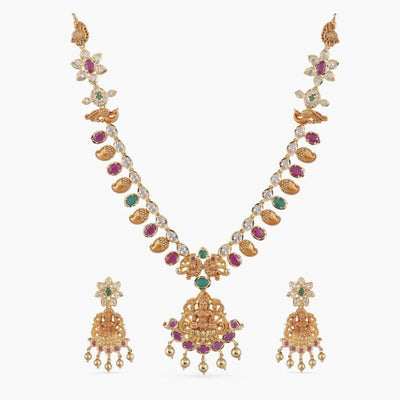 Ruth Nakshatra CZ Necklace Set