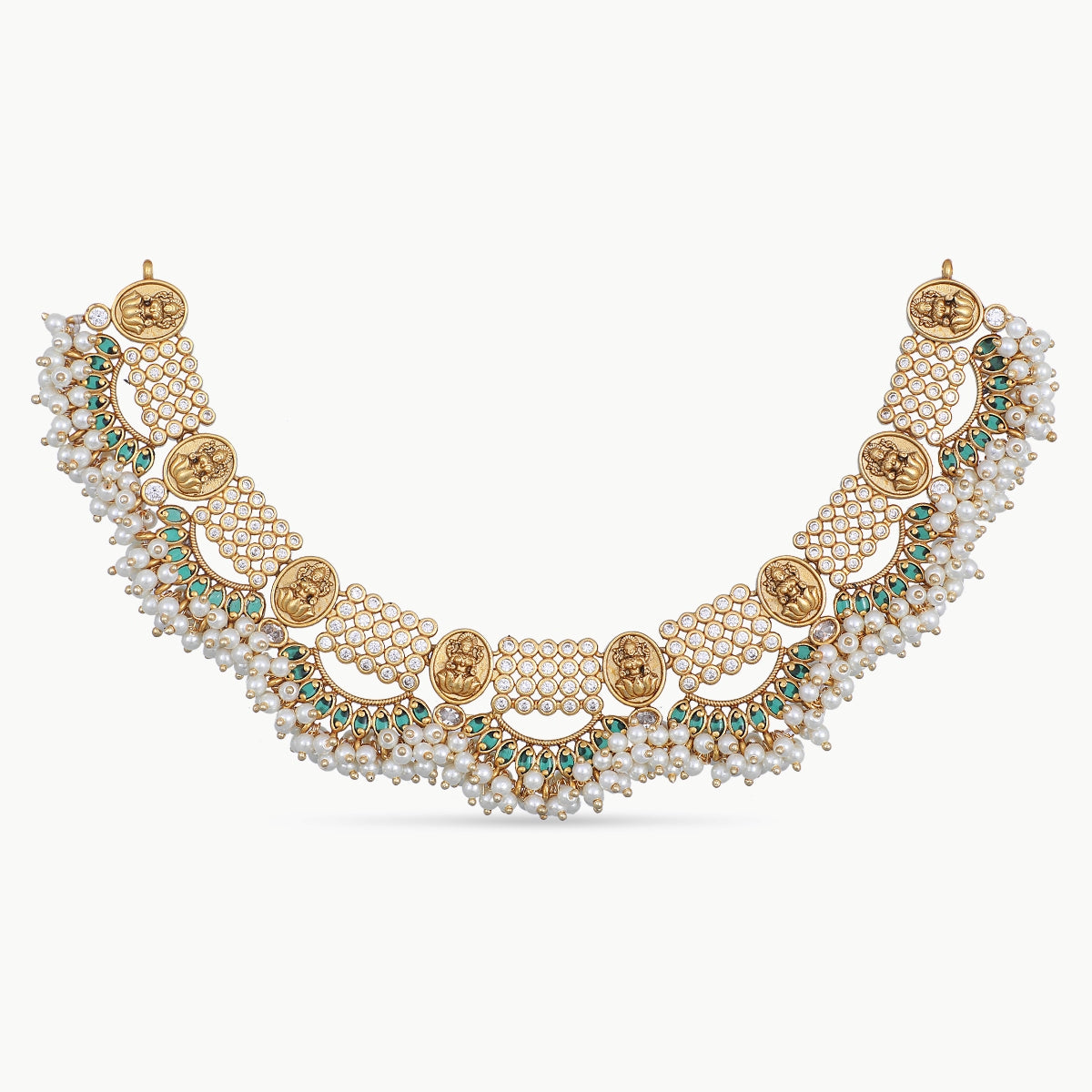 Aarya Antique Necklace Set