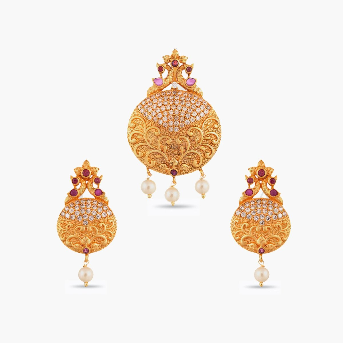 Indu Antique Pendant Set