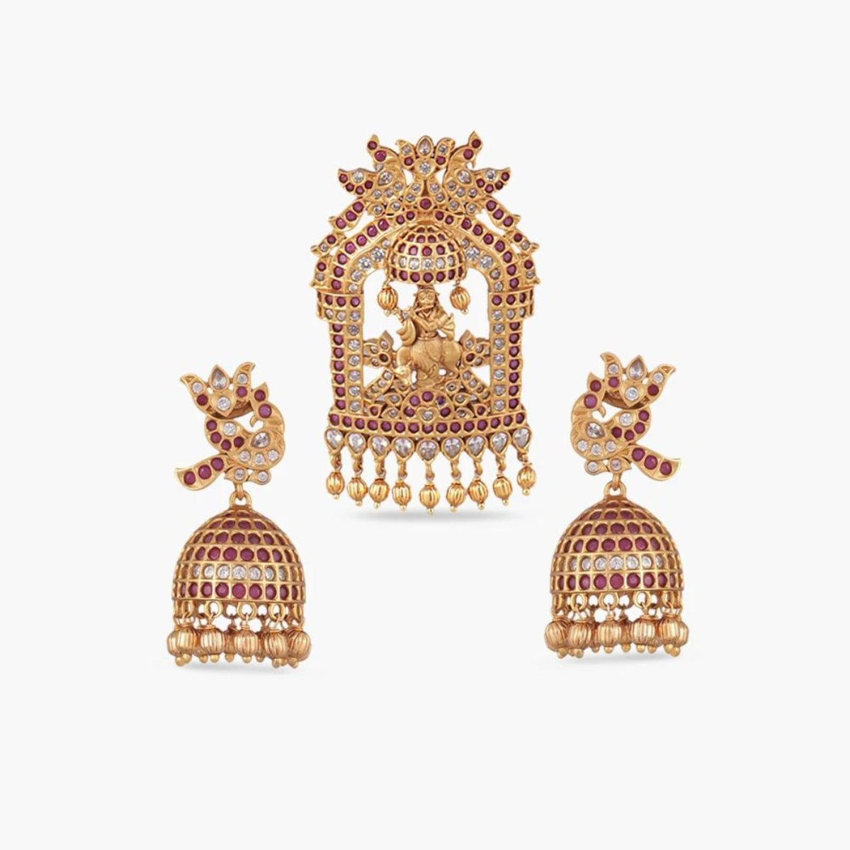 Murari Antique Pendant Set