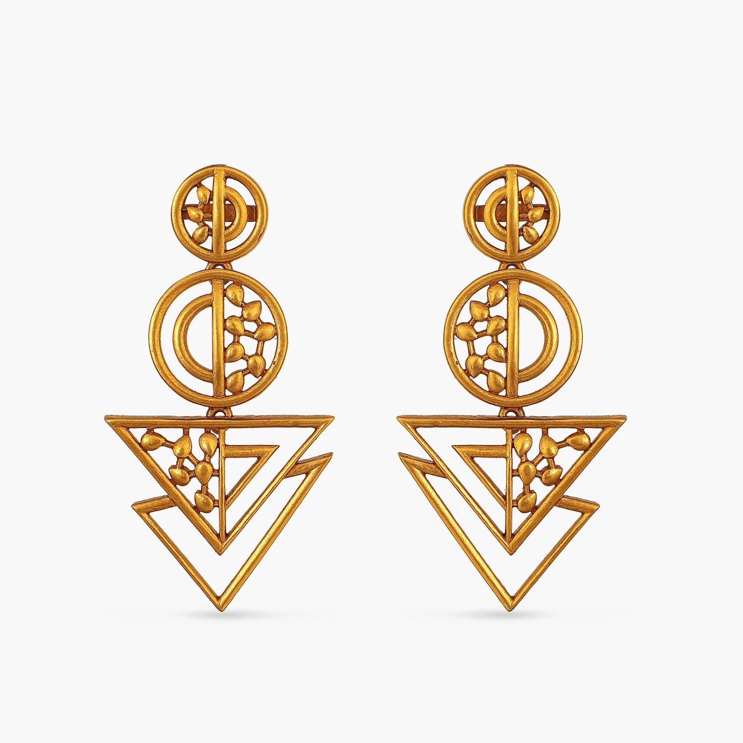 Geometric Flare Earrings