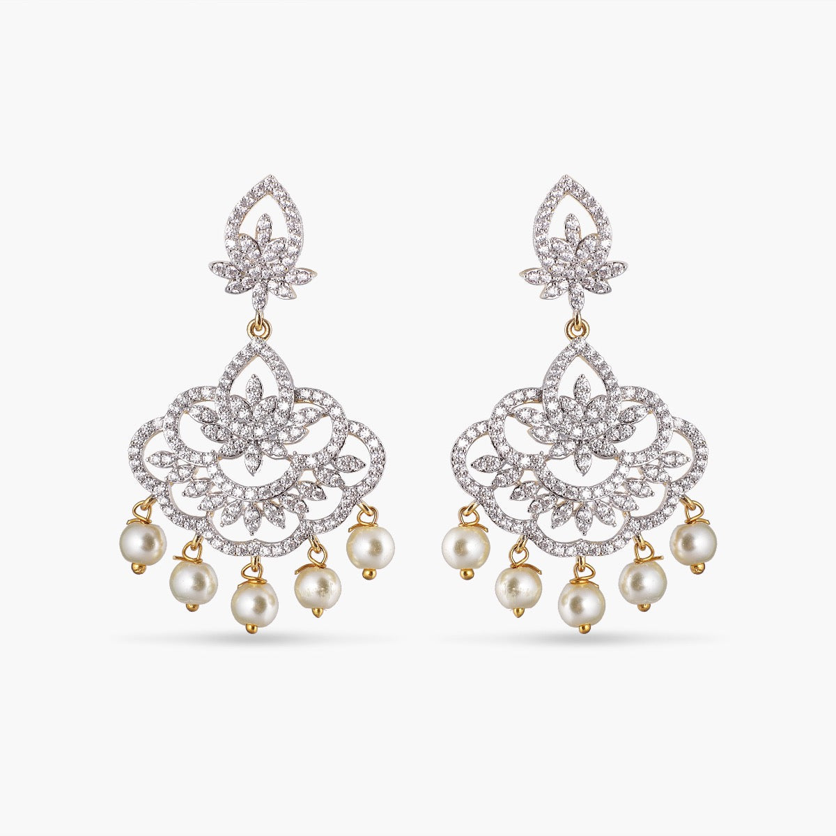 Kuhu Nakshatra CZ Earrings