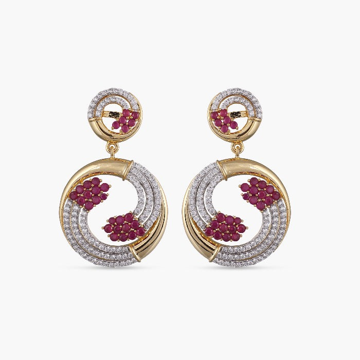 Galina Nakshatra CZ Earrings