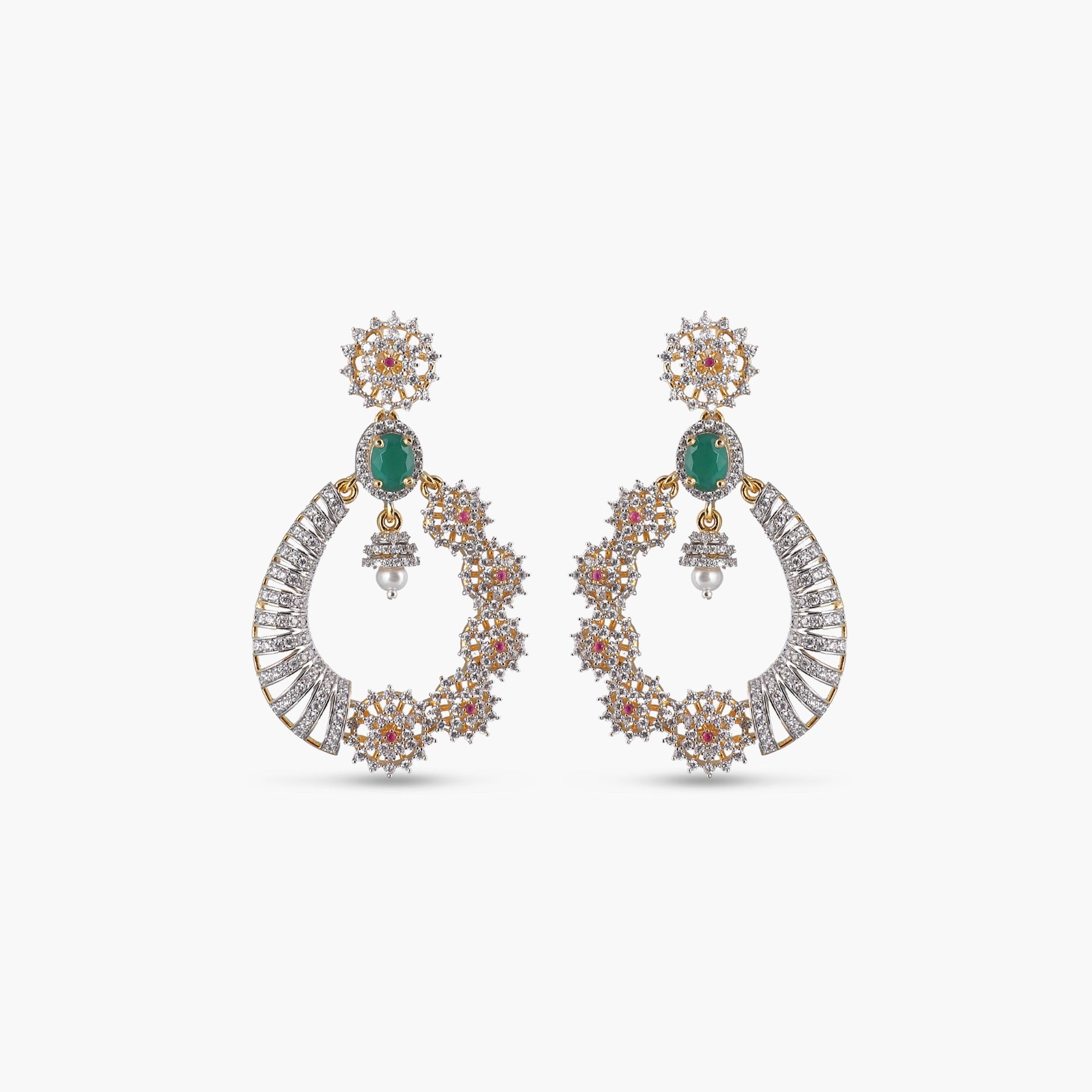 Edina Nakshatra CZ Earrings