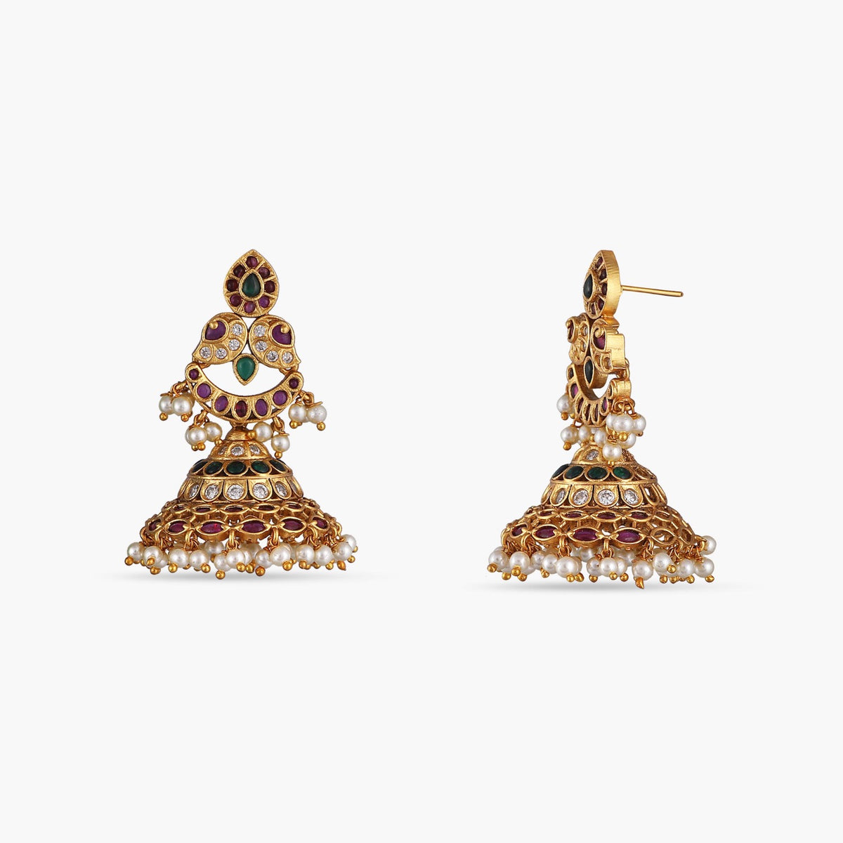 Gatita Antique Earrings