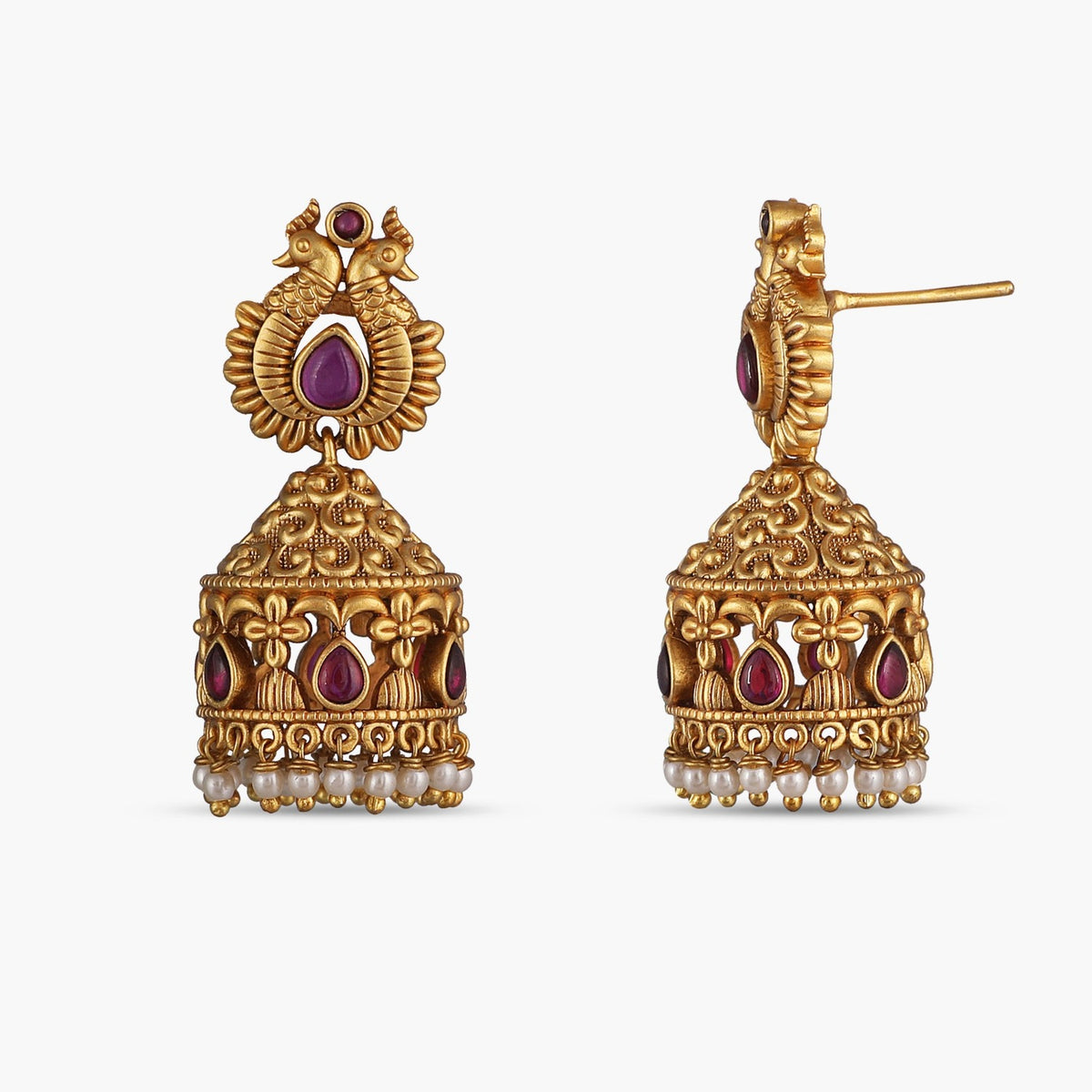 Keka Antique Jhumka Earrings