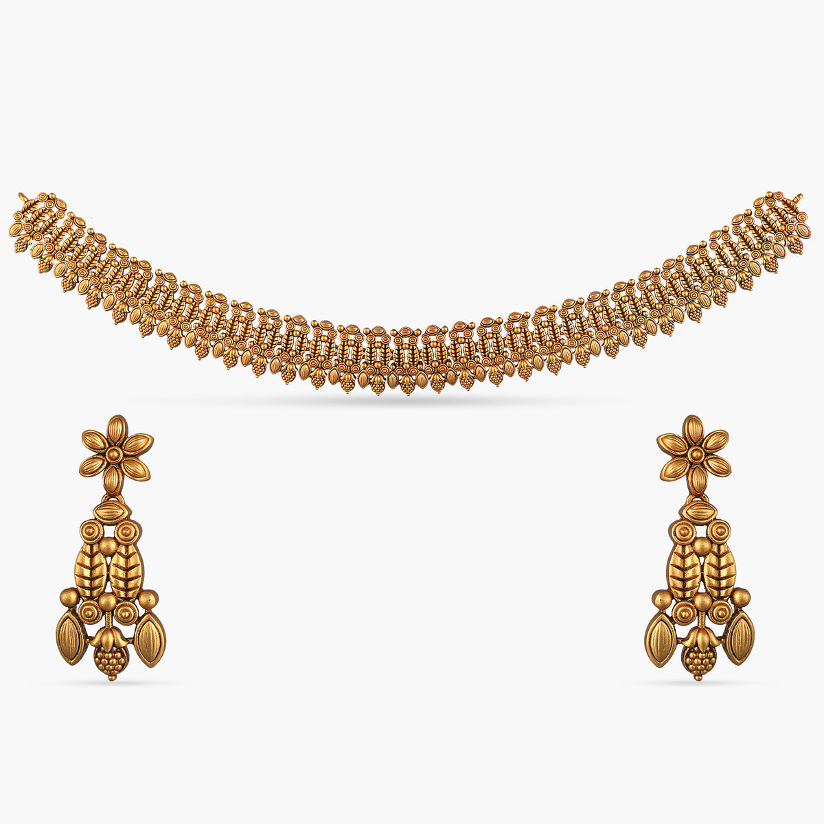 Charu Antique Necklace Set