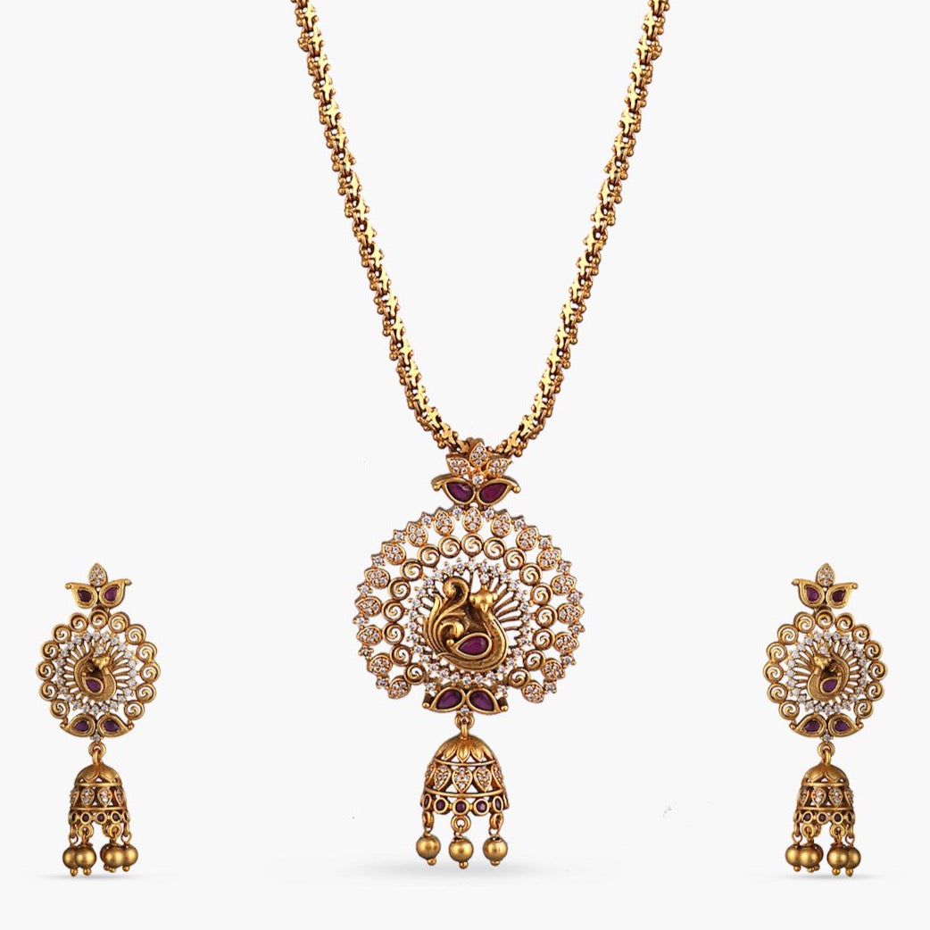 Kanjal Antique Pendant Set