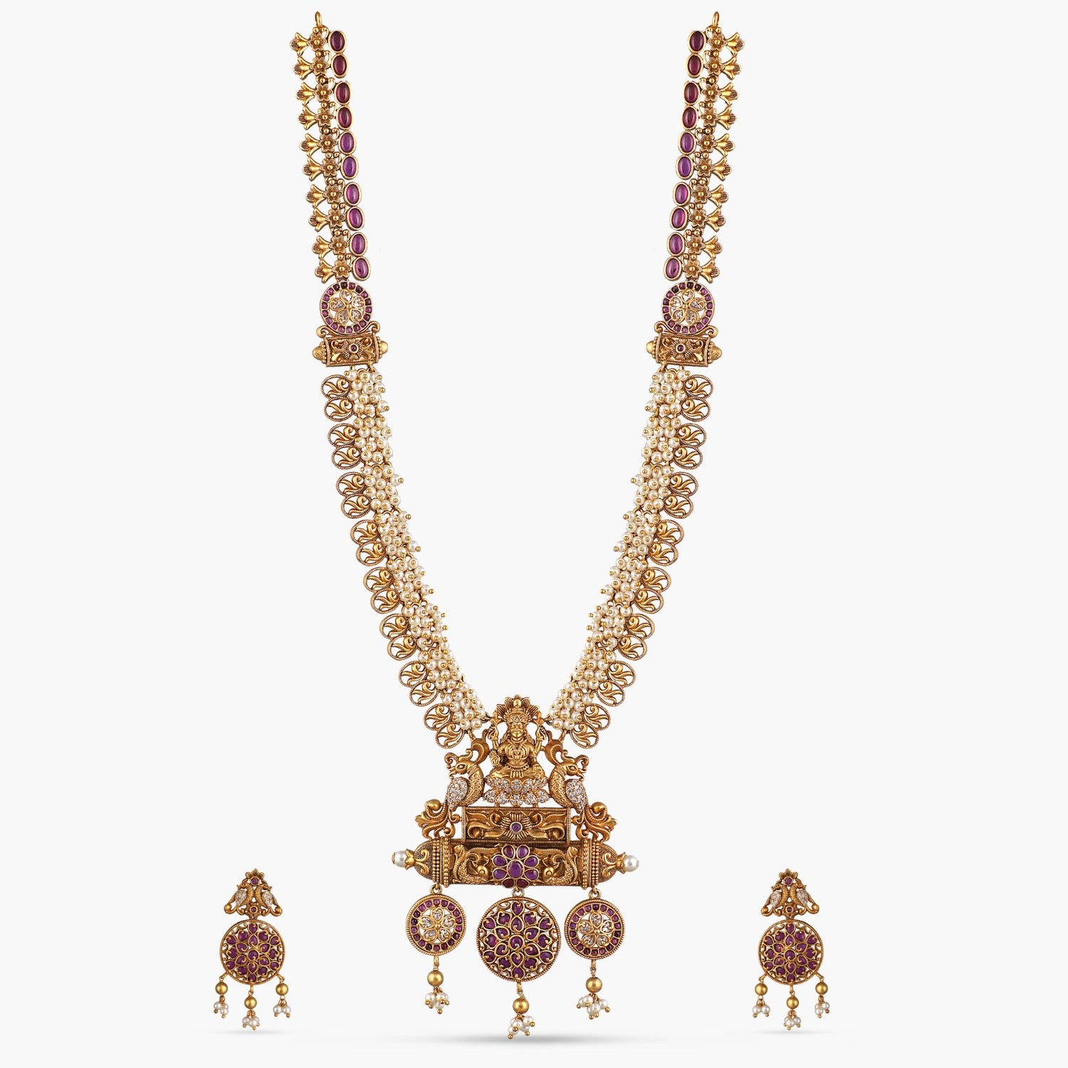 Riddhi Antique Long Necklace Set