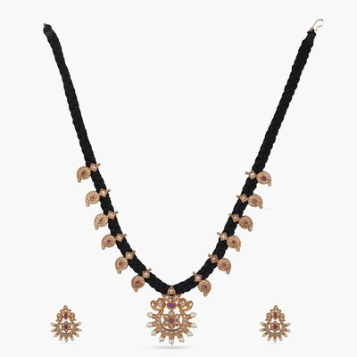 Rukm Antique Necklace Set