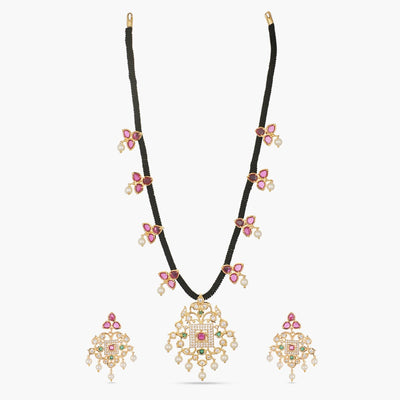 Mabel Nakshatra CZ Necklace Set