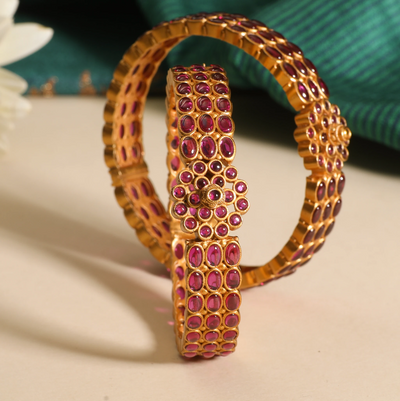 Ajalaa Antique Bangles