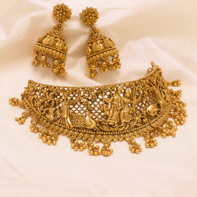 Harini Antique Choker Set